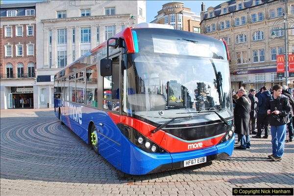 2018-02-23 Bournemouth Square and NEW W&D buses.  (8)008