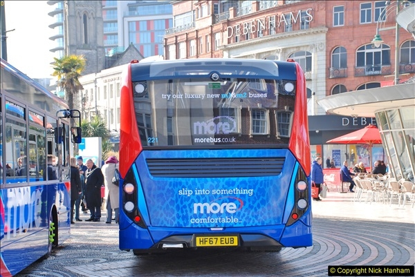 2018-02-23 Bournemouth Square and NEW W&D buses.  (27)027