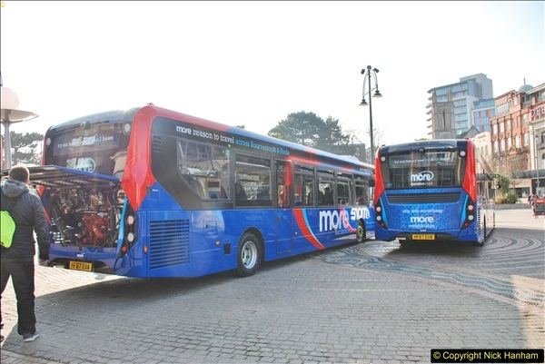2018-02-23 Bournemouth Square and NEW W&D buses.  (28)028
