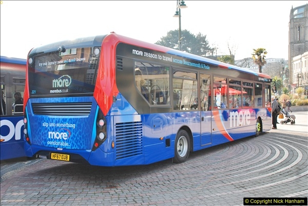 2018-02-23 Bournemouth Square and NEW W&D buses.  (29)029