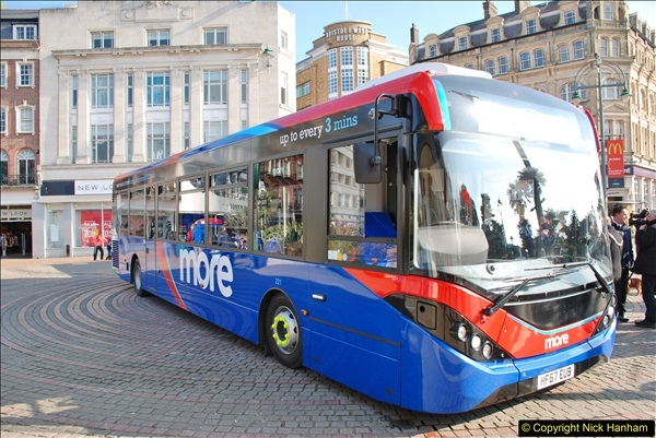 2018-02-23 Bournemouth Square and NEW W&D buses.  (32)032