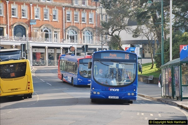 2018-02-23 Bournemouth Square and NEW W&D buses.  (39)039