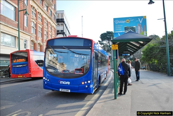 2018-02-23 Bournemouth Square and NEW W&D buses.  (40)040