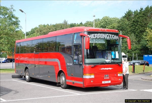2014-07-01 M27 Eastbound Services, Rownhams, Hampshire.  (1)203