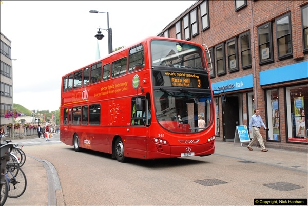 2013-08-15 Buses in Oxford, Oxfordshire. (39)188