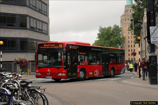 2013-08-15 Buses in Oxford, Oxfordshire. (40)189