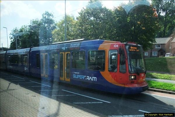 2013-09-29 Sheffield Super Tram, Sheffield, Yorkshire.  (6)219