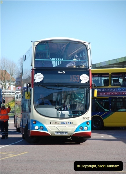 2012-03-21 Buses in Poole, Dorset.  (111)229