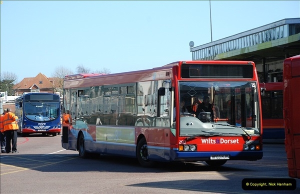 2012-03-21 Buses in Poole, Dorset.  (113)231