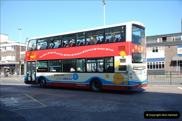 2012-03-21 Buses in Poole, Dorset.  (114)232
