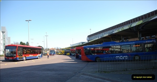 2012-03-21 Buses in Poole, Dorset.  (115)233