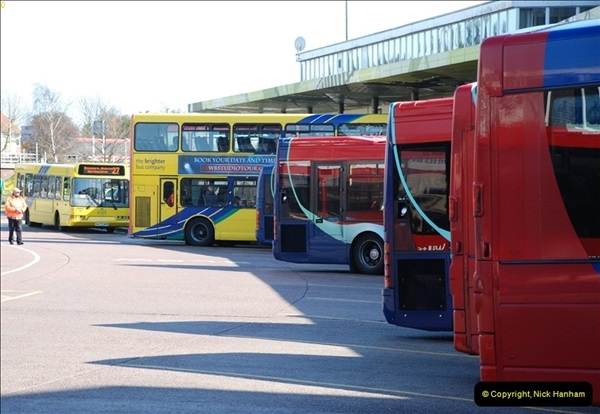 2012-03-21 Buses in Poole, Dorset.  (118)236
