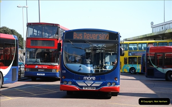 2012-03-21 Buses in Poole, Dorset.  (123)240