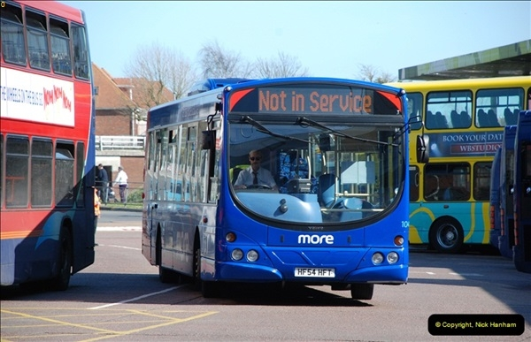 2012-03-21 Buses in Poole, Dorset.  (125)242