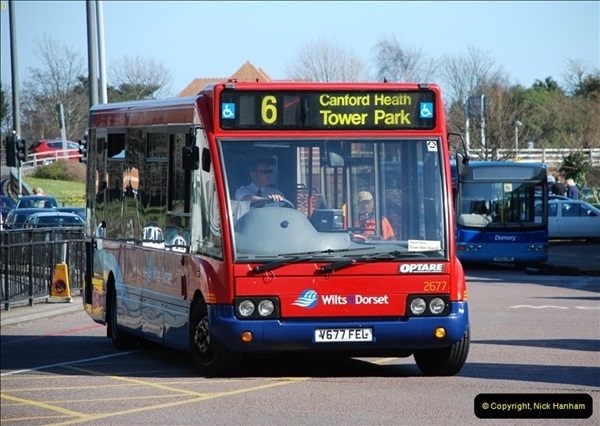2012-03-21 Buses in Poole, Dorset.  (135)249
