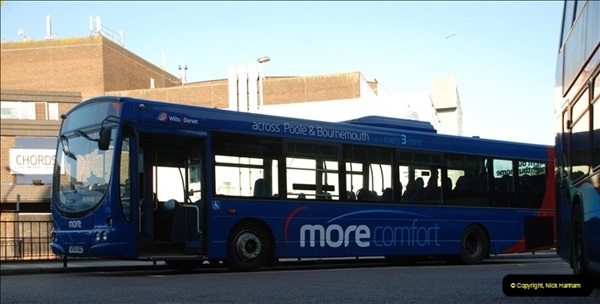 2012-03-21 Buses in Poole, Dorset.  (139)252