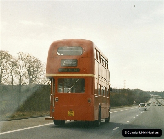 2005-03-05. RM2106 on the M3 Motorway Southbound.161