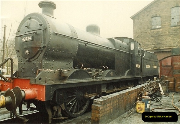 1983-03-29 At the Keithley & Worth Valley Railway.  (4)104