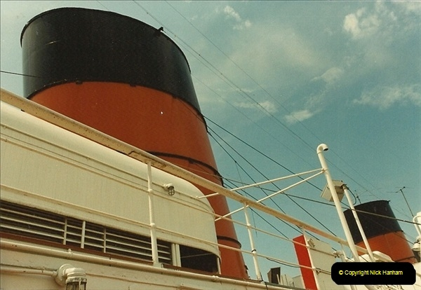 1982-08-15 The Queen Mary @ Long Beach, California, USA.  (4)057