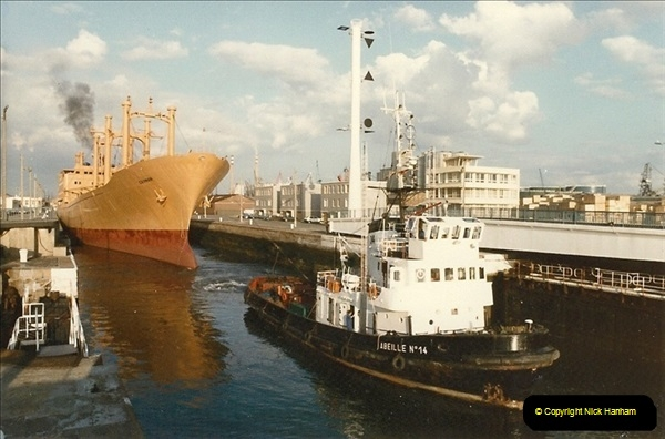 1984 August. Le Havre, France.  (2)102