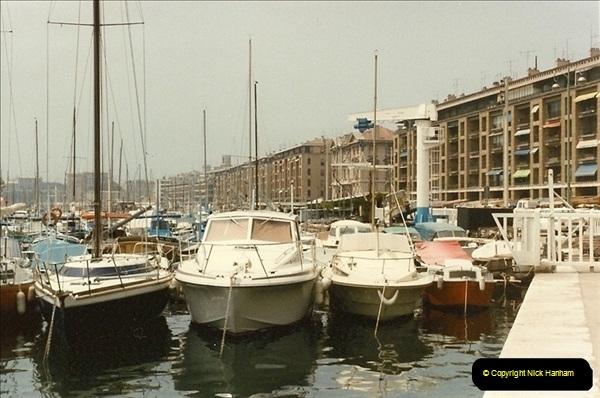 1984-07-14. Marseille, France.  (2)089