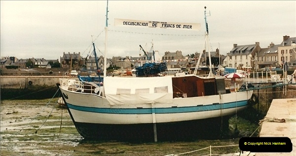 1986-07-20. Roscoff, France.  (1)133