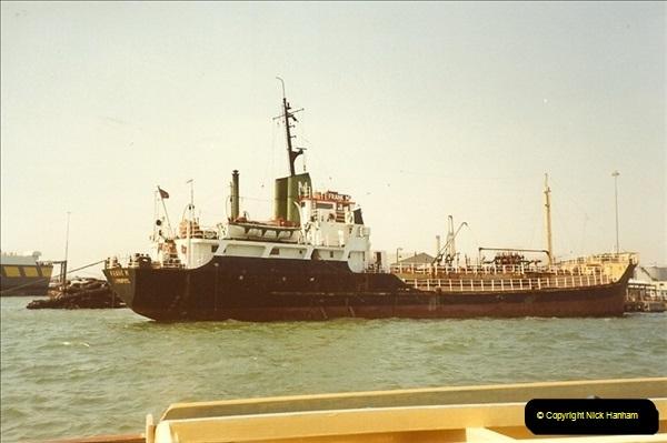 1989-07-07. Poole Quay, Dorset.  (2)172