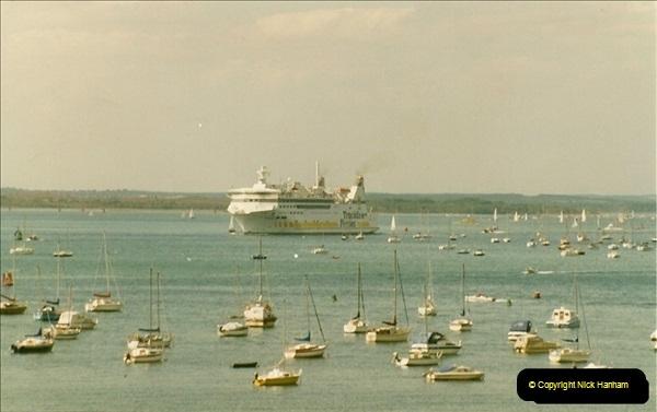1993-09-04 Poole Harbour, Poole, Dorset.  (1)216