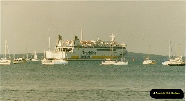 1993-09-04 Poole Harbour, Poole, Dorset.  (9)224
