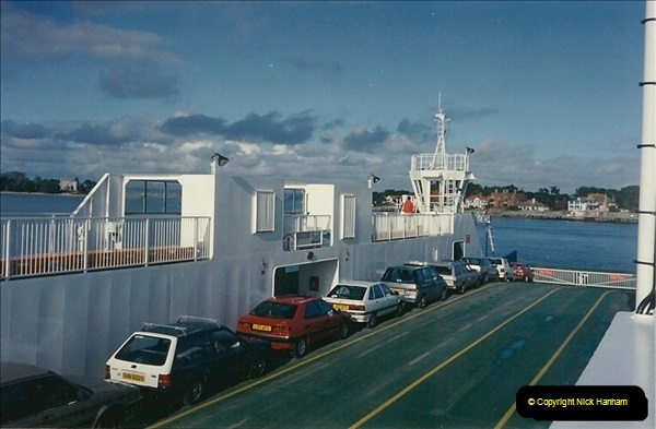 1994 January. New Ferry No. 4. The Haven, Poole, Dorset.   (2)282