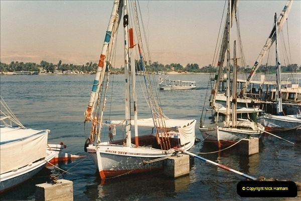 1994-08-08 to 15-08. Luxor & The Nile, Egypt.  (2)234