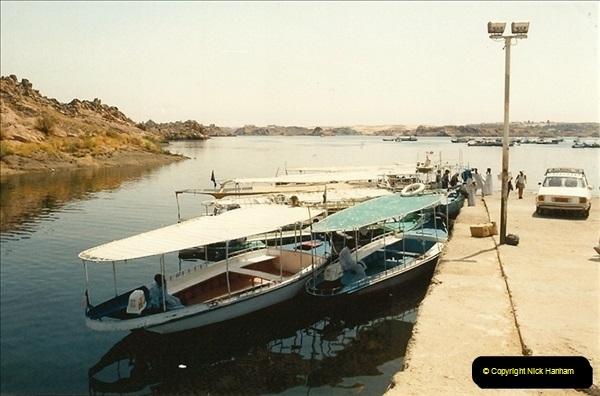 1994-08-08 to 15-08. Luxor, The Nile & Aswan, Egypt.  (5)243