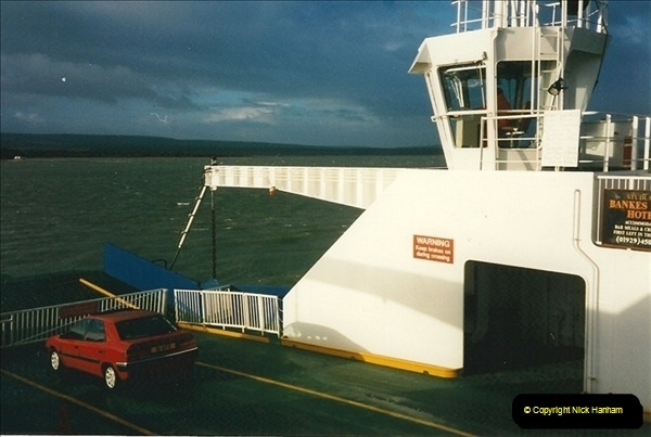 1996-02-02. Sandbanks, Poole, Dorset.  (2)335