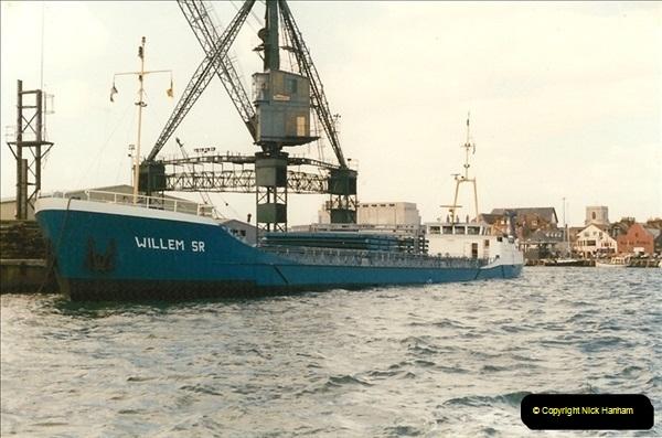 1996-03-10. Poole Quay, Dorset. (3)343