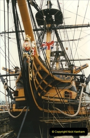 1996-11-02. HMS Victory, Portsmouth, Hampshire. (2)350