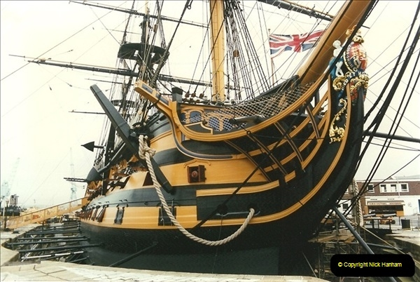 1996-11-02. HMS Victory, Portsmouth, Hampshire. (3)351