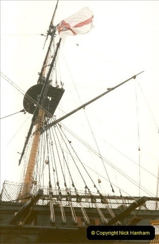 1996-11-02. HMS Victory, Portsmouth, Hampshire. (8)355
