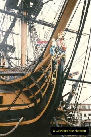 1996-11-02. HMS Victory, Portsmouth, Hampshire. (9)356