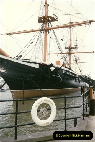 1996-11-02. HMS Warrior Portsmouth, Hampshire. (6)364