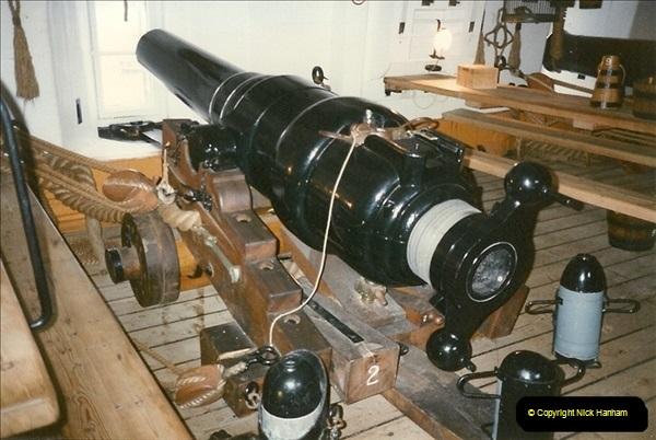 1996-11-02. HMS Warrior Portsmouth, Hampshire. (9)367