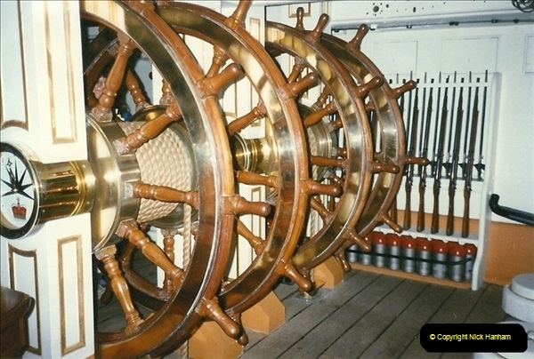 1996-11-02. HMS Warrior Portsmouth, Hampshire. (10)368