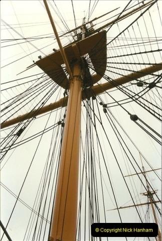 1996-11-02. HMS Warrior Portsmouth, Hampshire. (13)371