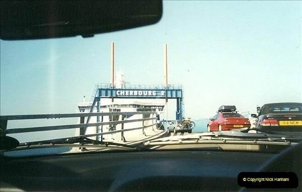1999-07-25. Leaving Cherbourg, France.  (1)462