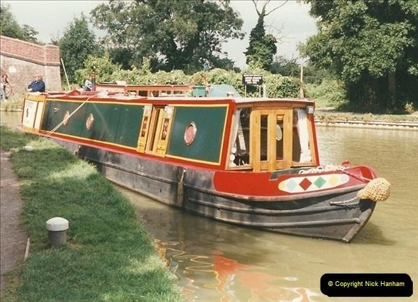 1999-08-13. Foxton Locks, Near Market Harborough, Leics.  (6)476