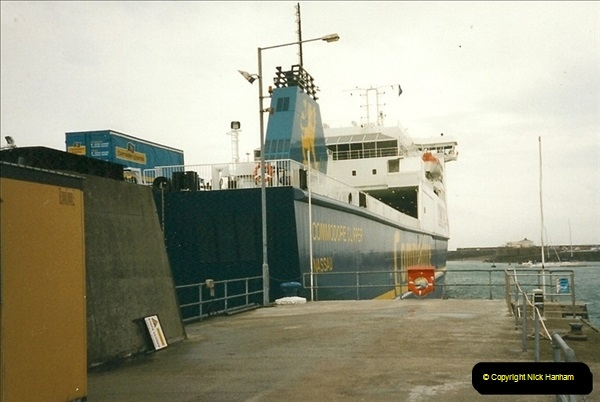 1999-09-18. New Condor Ferries Condor Clipper, Guernsey, CI (0)482