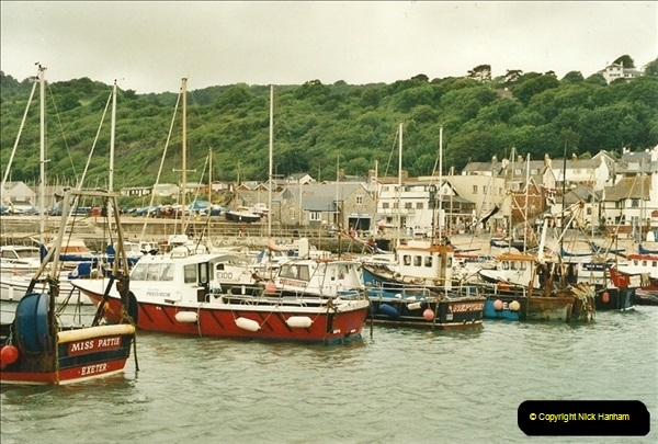 2000-06-21. Lyme Regis, Dorset. (1)493