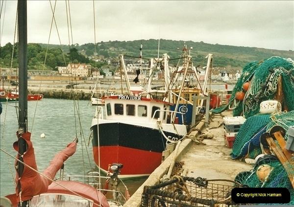 2000-06-21. Lyme Regis, Dorset. (2)494