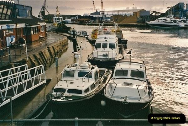 2000-11-13. Poole Quay, Dorset. (5)519