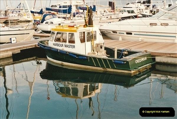 2001-08-14. Poole Quay, Dorset. (2)538