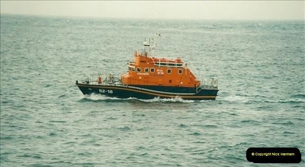 2002-05-17 RNLI Rescue. Portland, Dorset.  (2)561